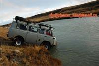 Горный Алтай: Река Ак-Алаха брод