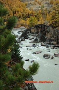 Горный Алтай: Река Ак-Алаха