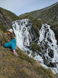 Горный Алтай: Водопад Тураоюк