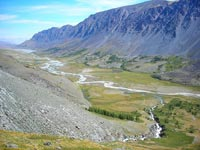 Горный Алтай: Река Аккол