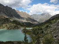 Горный Алтай: К озеру Дарашколь