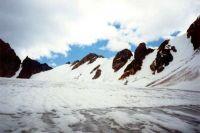 Горный Алтай: Перевалы Туманные (восточный, центральный, западный) со стороны р. Юнгур (24.92 Kb)