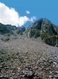 Горный Алтай: пер. Камрю сев. со стороны р. Камрю (29.73 Kb)