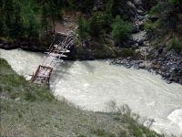 Горный Алтай: Река Чуя мост в районе реки Орой (117.12 Kb)