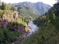Горный Алтай: Река Коргон (148.34 Kb)