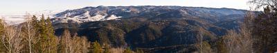 Горный Алтай: Вид с вершины Цирковка (356.85 Kb)