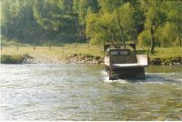 Горный Алтай: Река Чемал брод выше села Уожан (103.46 Kb)