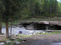 Горный Алтай: Река Кучерла второй мост  (43.73 Kb)