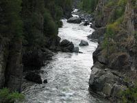 Горный Алтай: Река Башкаус Саратанский каньон (288.15 Kb)