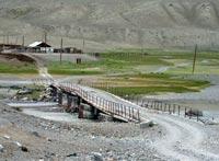 Горный Алтай: Река Чаган. Мост