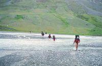 Горный Алтай: Брод через Талдуру (102.28 Kb)