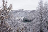 Горный Алтай: Долина реки Катунь зимой (320.1 Kb)